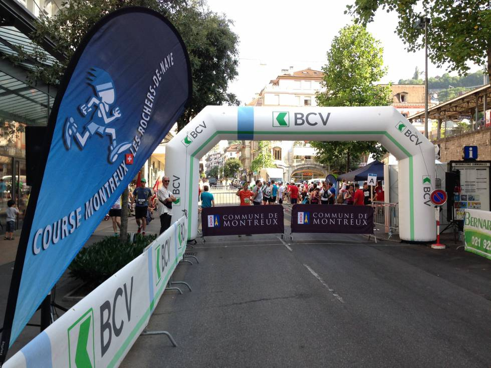 BCV extends its support to the Montreux race - Les Rochers-de-Naye
